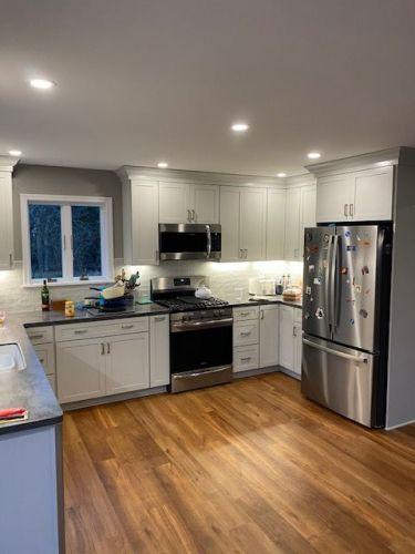 Kitchen addition Brighton MDM Construction 2021 02