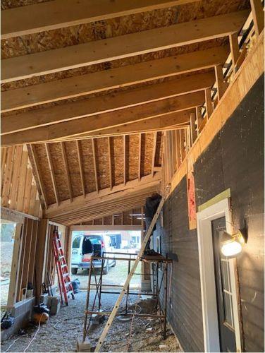 Gararge addition Pittsford NY MDM Construction 05